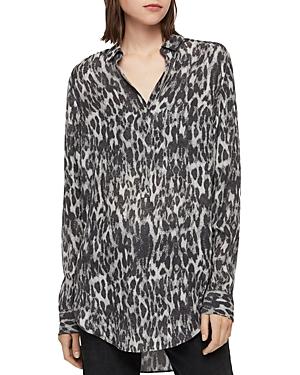 Allsaints Keri Leopard Print Tunic