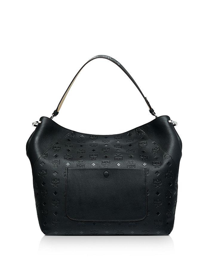 8fc1e1076c MCM - Klara Large Monogrammed Leather Hobo
