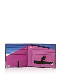 Paul Smith - LA Shop Leather Bi-Fold Wallet