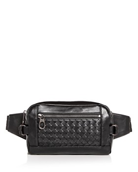 Bottega Veneta - Leggero Intrecciato Leather Belt Bag