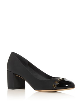 Salvatore Ferragamo - Women's Avella Block-Heel Pumps