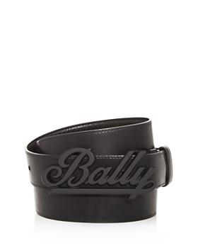 Bally - Men's Swoosh Reversible Leather Belt