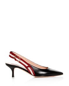 Bally - Women's Alice Pointed-Toe Slingback Pumps