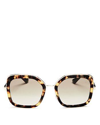 549b391fd325 Prada Women's Square Sunglasses, 54mm | Bloomingdale's