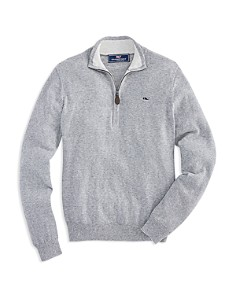 Vineyard Vines - Boys' Striped Zip Sweater - Little Kid, Big Kid