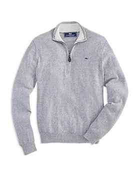 Vineyard Vines - Boys' Striped Zip Sweater - Little Kid, Big Kid