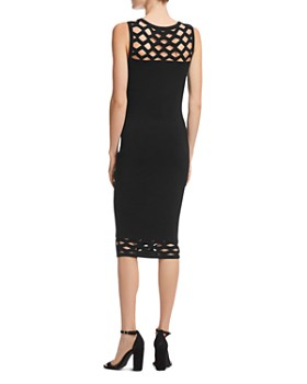 Bailey 44 - Lattice-Cutout Sweater Dress