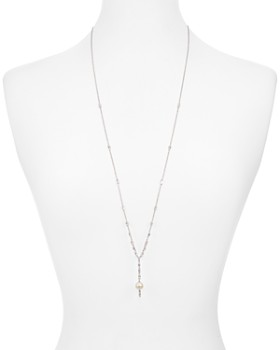 Nadri - Cadence Cultured Freshwater Pearl Lariat Necklace, 32""