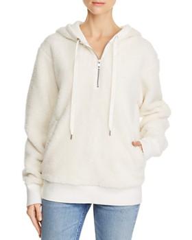 rag & bone/JEAN - Teddy Fleece Hooded Sweatshirt