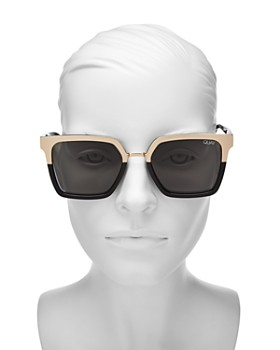 Quay - Women's Quay x Jaclyn Hill Upgrade Square Sunglasses, 55mm