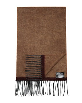 The Men's Store at Bloomingdale's - Border-Stripe Scarf - 100% Exclusive