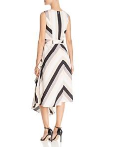 Calvin Klein - Striped Sleeveless Midi Dress