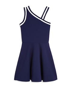AQUA - Girls' Asymmetrical Textured Dress, Big Kid - 100% Exclusive