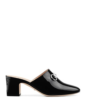 Gucci - Women's Block-Heel Mules
