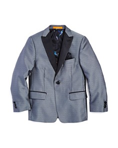Tallia - Boys' Medallion Sport Coat - Big Kid
