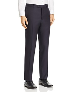 John Varvatos Star USA - Tonal Pinstriped Wool Slim Fit Suit Pants