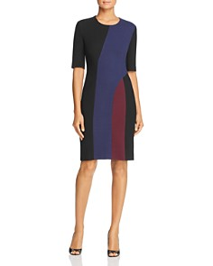 BOSS - Delivia Color Block Dress