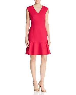 Elie Tahari KADISHA FLUTTER DRESS