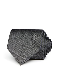 The Men's Store at Bloomingdale's - Mélange Textured Silk Solid Classic Tie - 100% Exclusive