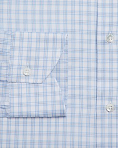 Canali - Open-Checked Regular Fit Dress Shirt