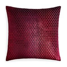 "Kevin O'Brien Studio - Dots Velvet Decorative Pillow, 22"" x 22"""