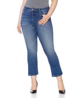 SLINK Jeans Plus - Flared Jeans in Nikka