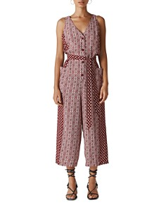 Whistles - Woodblock-Print Jumpsuit