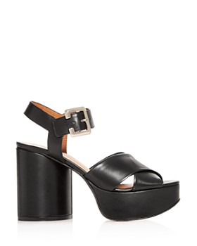 Clergerie - Women's Vianne Crisscross High-Heel Platform Sandals