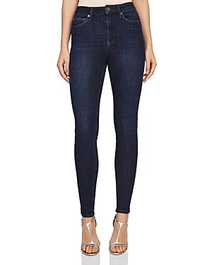 Reiss Skye 360 Bi-Stretch High Rise Skinny Jeans in Indigo