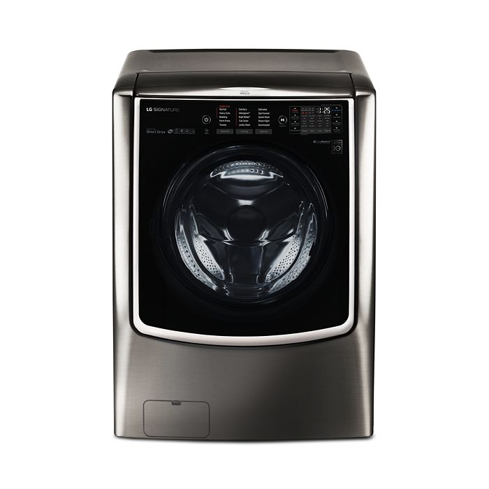 LG SIGNATURE - SIGNATURE Large Smart Wi-Fi-Enabled Front Load Washer #WM9500HKA