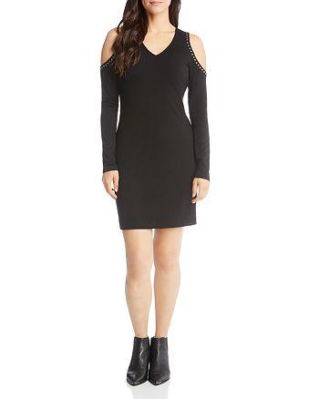 Karen Kane - Studded Cold Shoulder Dress