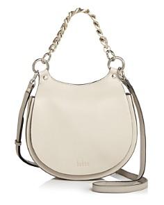 Behno - Tilda Leather Crossbody Saddle Bag