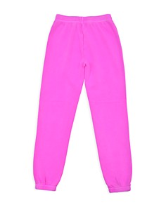Butter - Girls' Embellished Fleece Peace Sweatpants - Little Kid, Big Kid