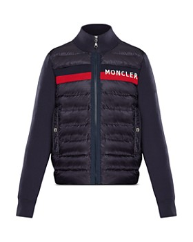 a18c159ea4b Moncler - Boys  Contrast Knit Quilted Jacket - Big Kid