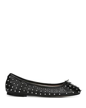 Sam Edelman - Women's Fanley Studded Leather Ballet Flats