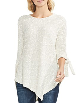 VINCE CAMUTO - Textured Asymmetric Sweater