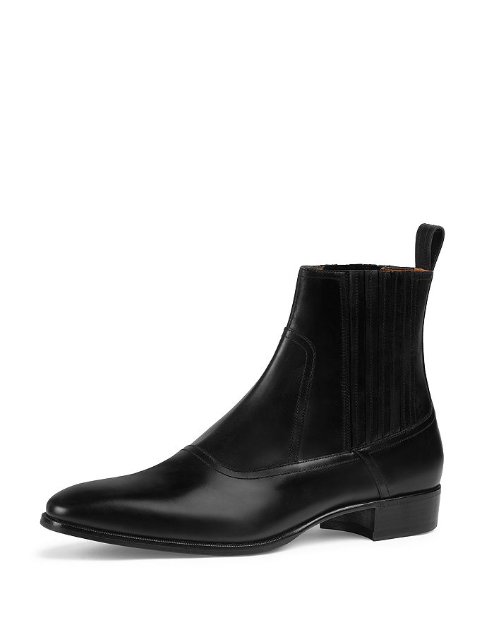huge discount separation shoes check out Men's Leather Chelsea Boots