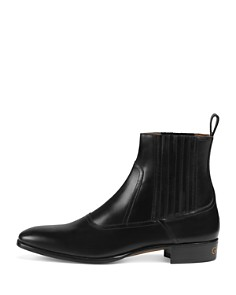 Gucci - Men's Leather Chelsea Boots