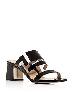 MARION PARKE - Women's Bailey Block-Heel Sandals