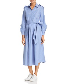 Weekend Max Mara - Canon Striped Cotton Shirt Dress