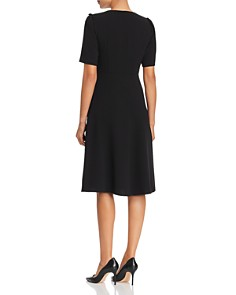 Weekend Max Mara - Benda Short-Sleeve V-Neck Dress