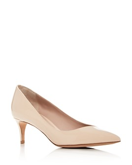 Armani - Women's Decollete Pointed-Toe Kitten-Heel Pumps