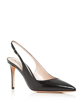Armani - Women's Decolette Slingback Pointed-Toe Pumps