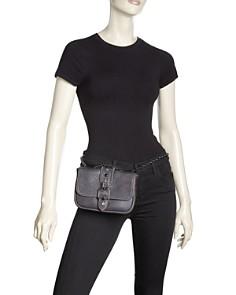 Longchamp - Amazone Rock Mini Leather Convertible Shoulder Bag