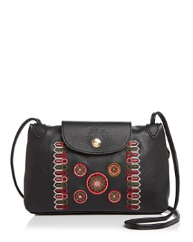 Longchamp - Cuir Rosace Leather Crossbody ... c2902ee98a4ae