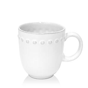 Costa Nova White Pearl Mug