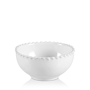 Costa Nova White Pearl Fruit Bowl