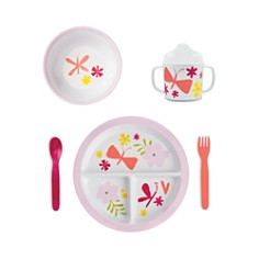 kate spade new york - Baby Girl Melamine Dining Set
