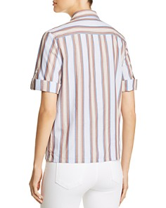 Tory Burch - Striped Box Top