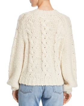 Anine Bing - Ali Cable-Knit Sweater
